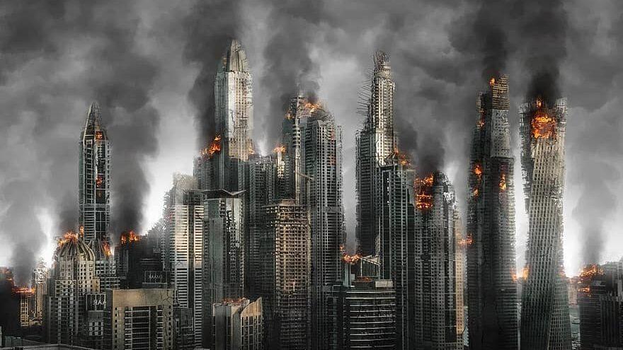 apocalipsis, destrucción total