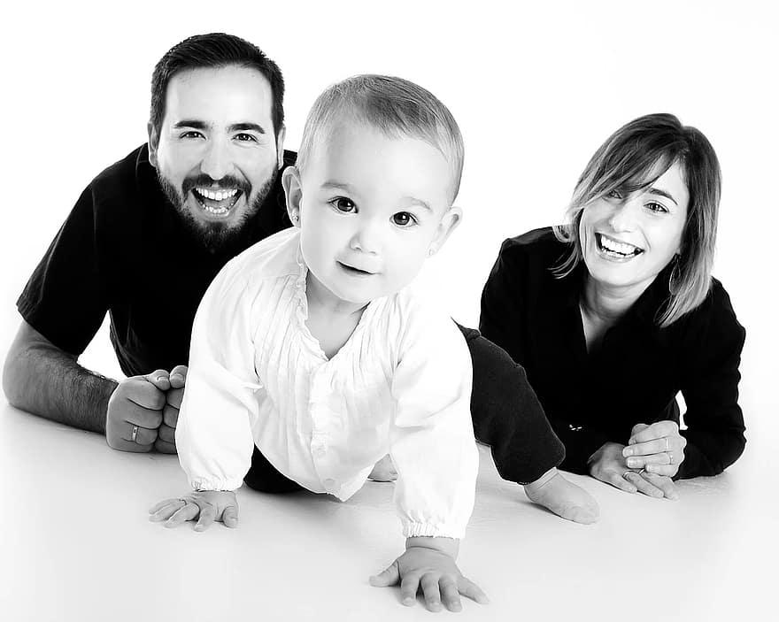 El amor de los padres influye en hijos prosperos