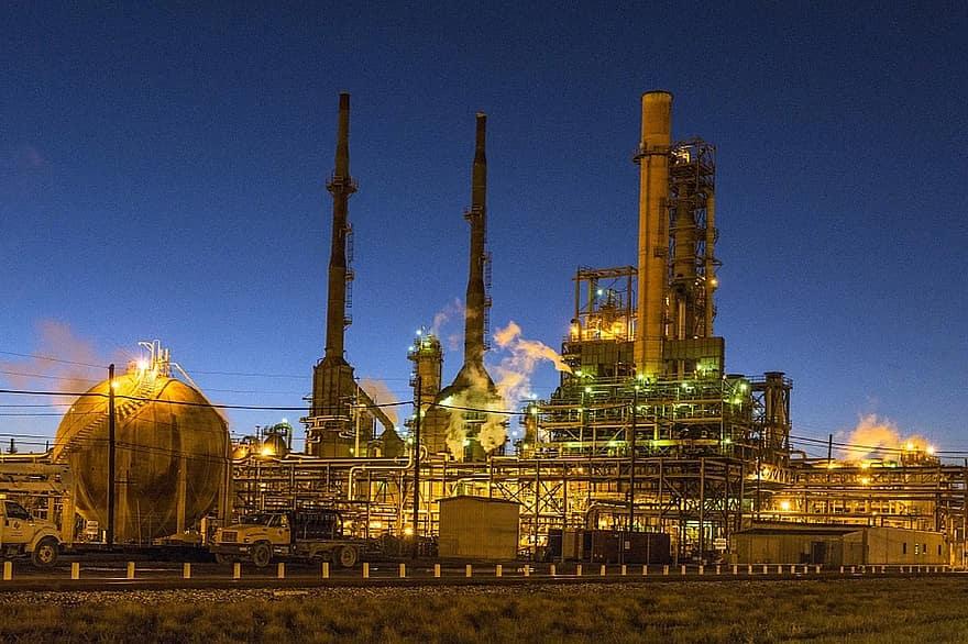 refineria de petroleo