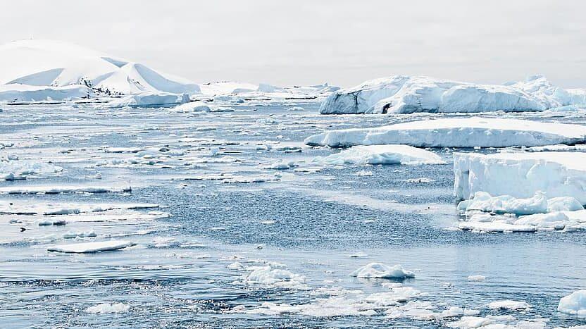variaciones en las precipitaciones en el Polo Norte