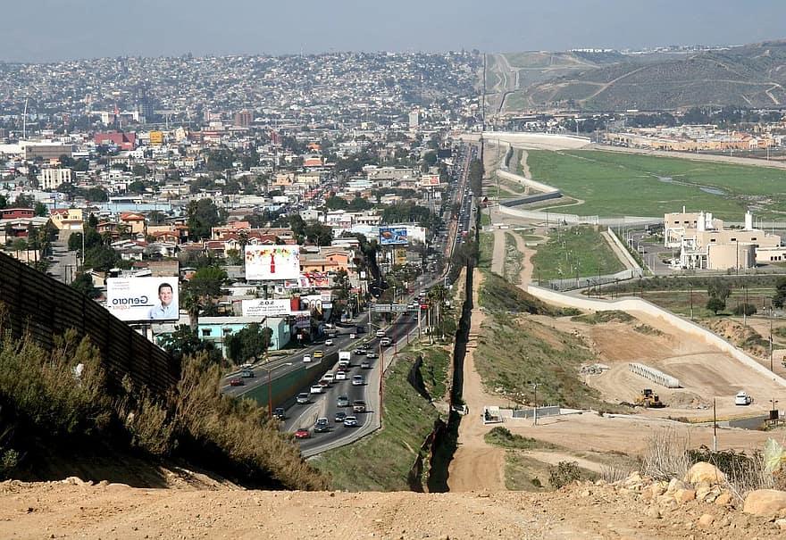 frontera estados unidos con méxico