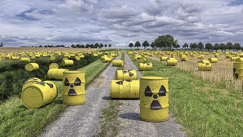 batería hecha de residuos nucleares