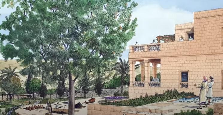 palacio real en Jerusalén