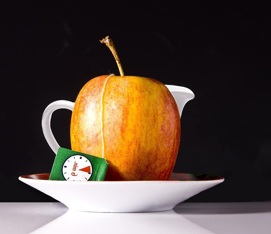 manzana más té