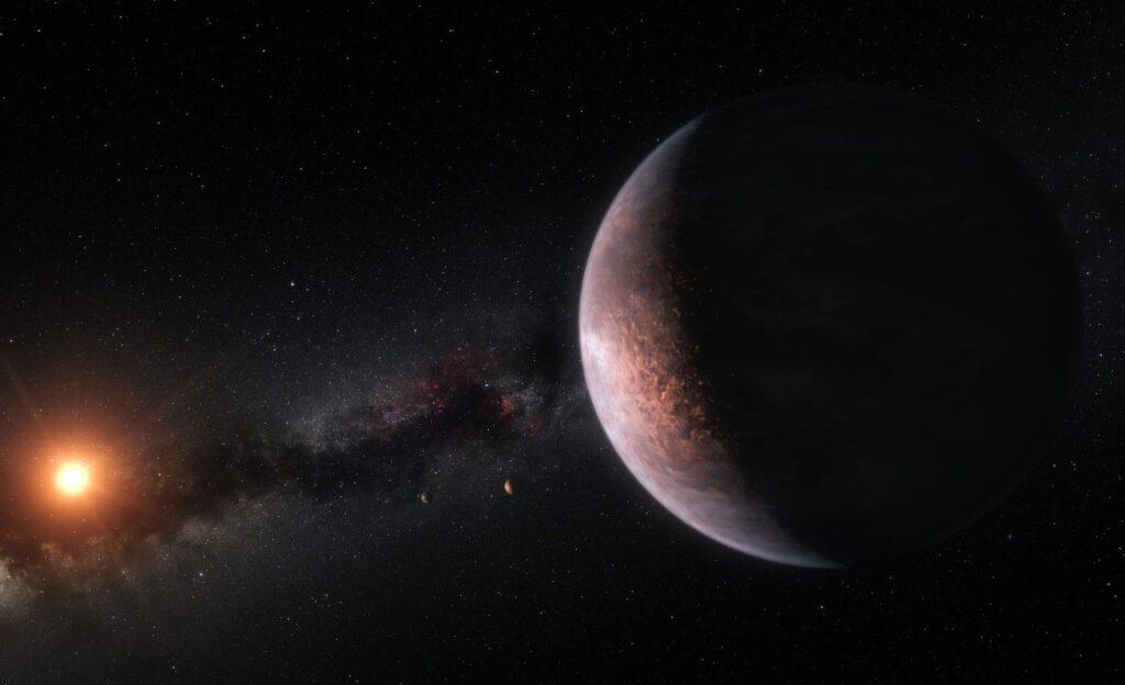 nuevo método para detectar océanos en exoplanetas: la espectropolarimetría, o medir las direcciones vibratorias de la luz del planeta en diferentes colores
