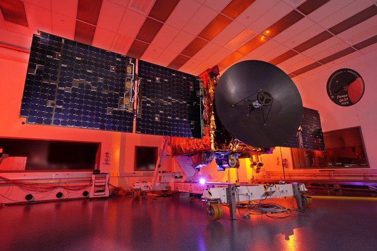 La sonda Hope girará alrededor de Marte en una órbita de 55 horas, analizando su atmósfera