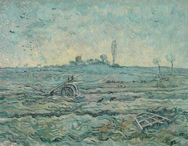 """Hace un escaneo de un Van Gogh, toma los valores RGB de los píxeles que ve y luego deja que la tecnología ejecute una variedad de cálculos usando estos valores. Los cálculos finalmente producen una nueva imagen que pretende aproximarse a """"una versión más joven"""" de un dibujo de Van Gogh"""